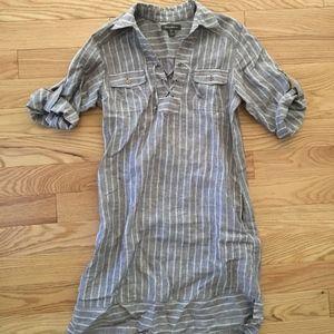 Tommy Bahama Striped Island Linen Dress